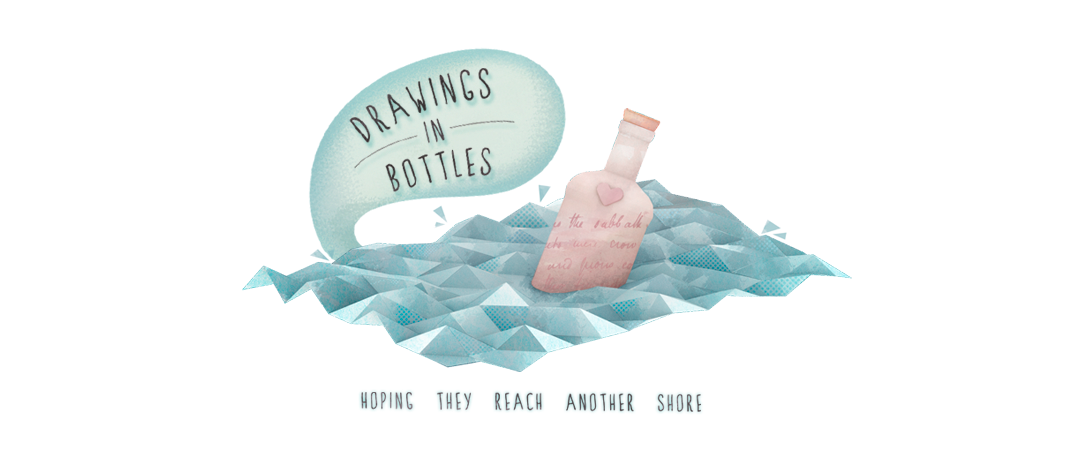 Drawings in Bottles