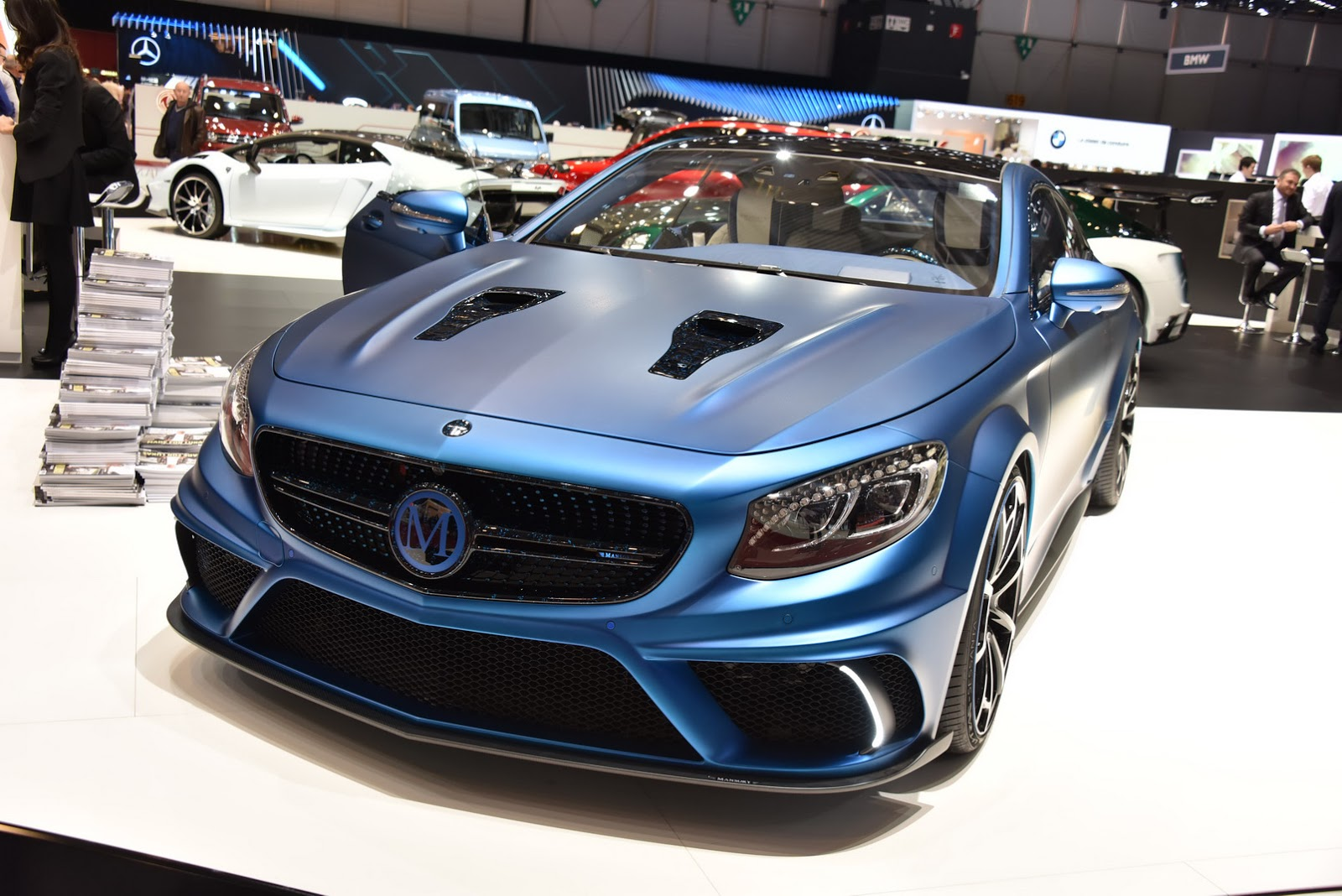 972hp Should Cure Mansory Mercedes Benz S63 Amg Coupe S