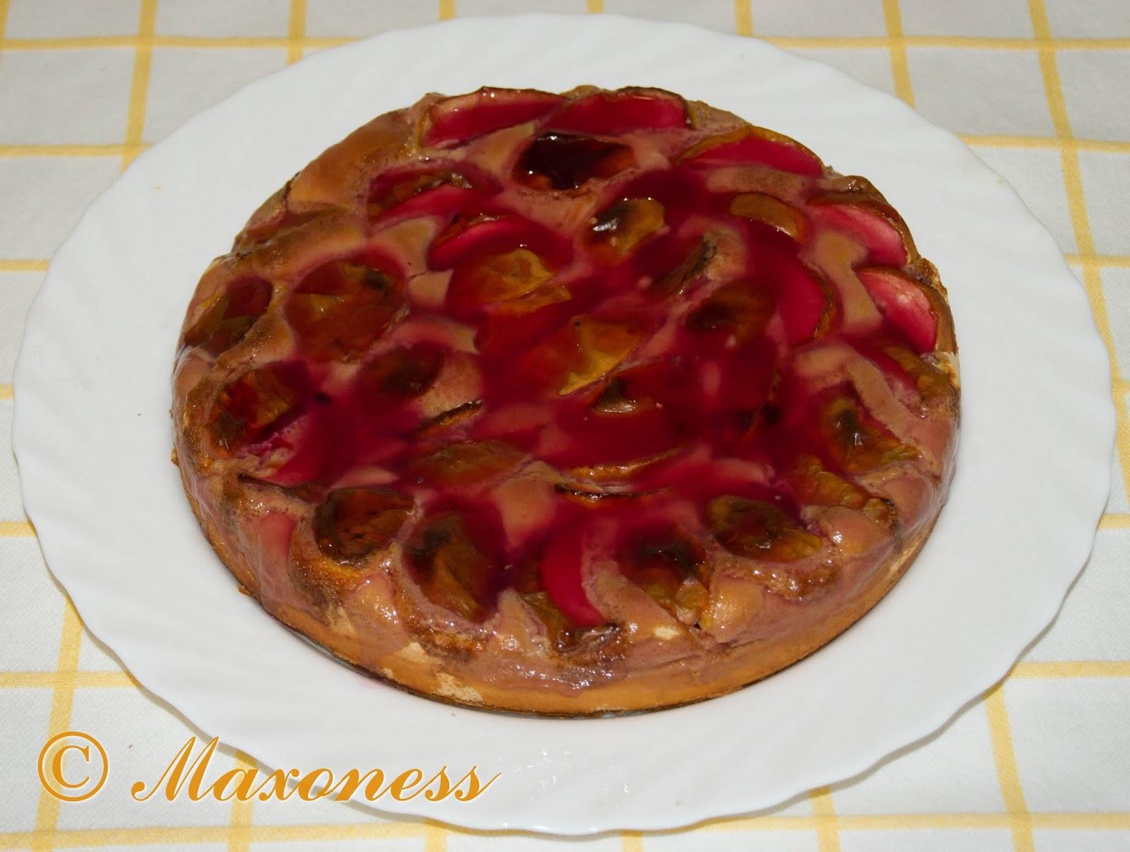 Яблочный пирог на скорую руку. Русская кухня
