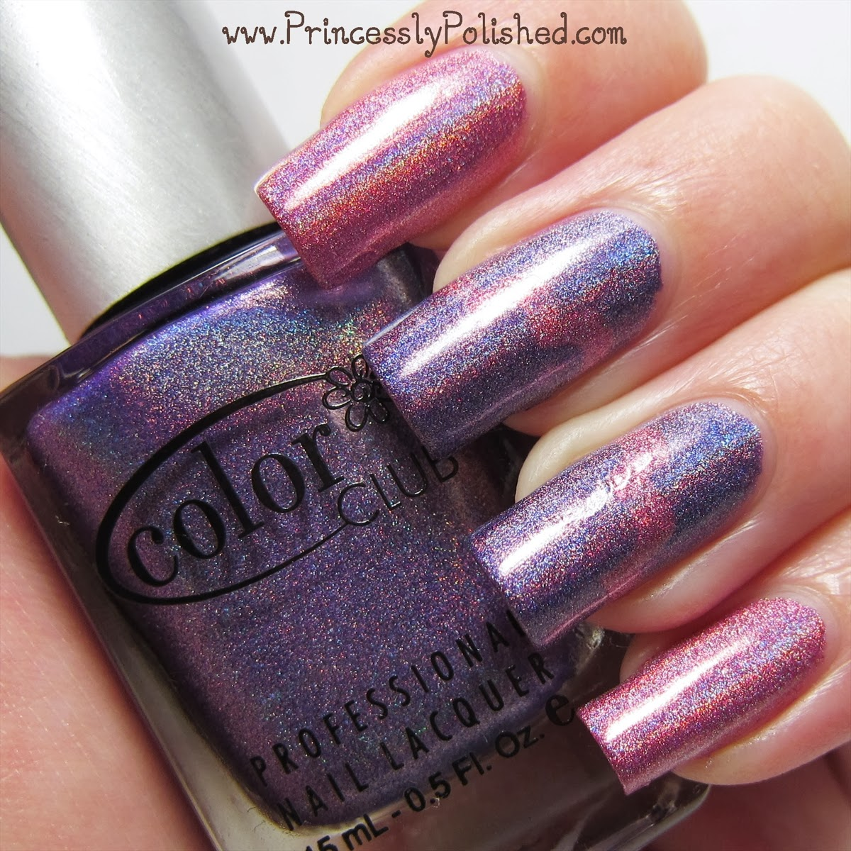 Princessly Polished: Color Club: Miss Bliss & Eternal Beauty with ...