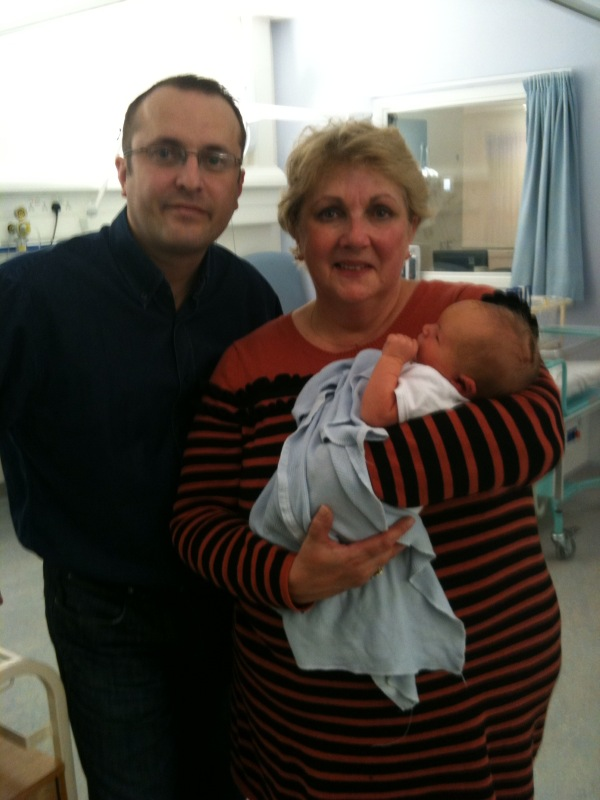 Granny Liz, Daddy and James