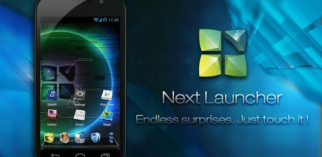 Next Launcher 3D v1.19 APK