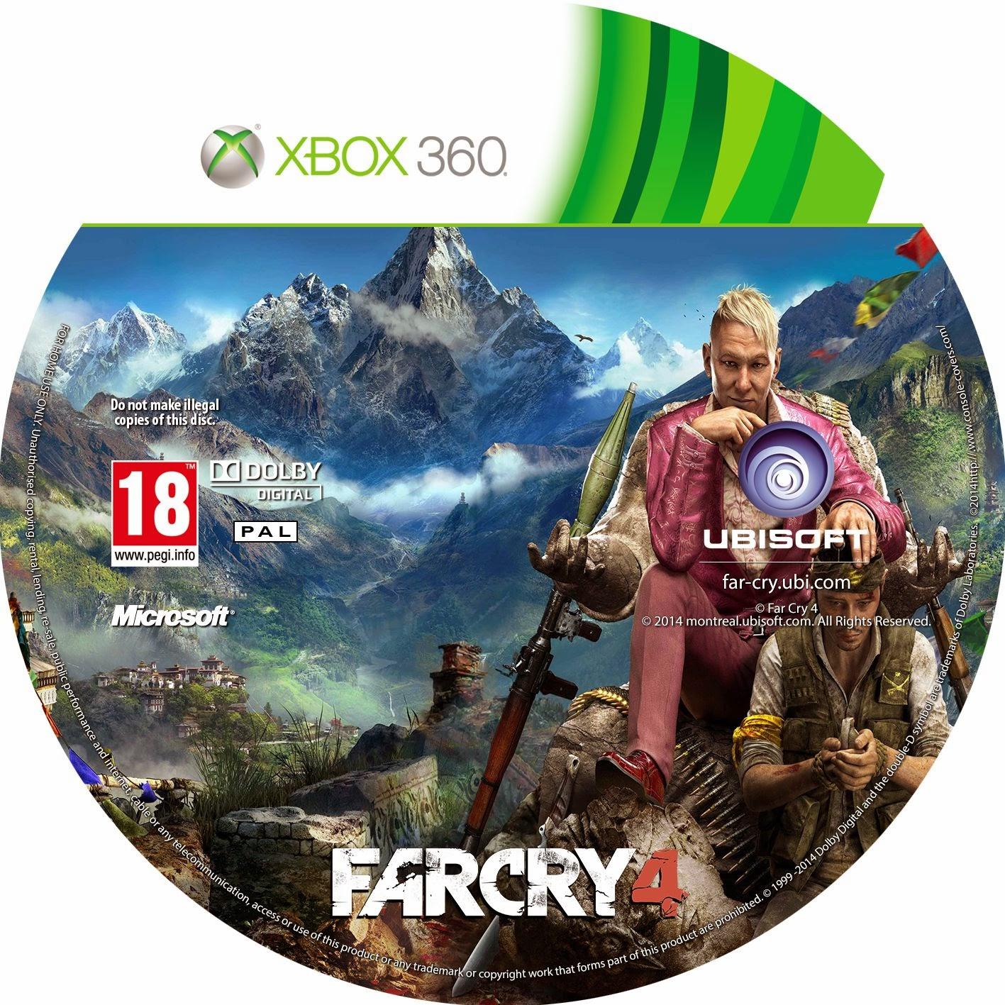 Download FarCry 4 Xbox 360 - Dublado pt-br Torrent