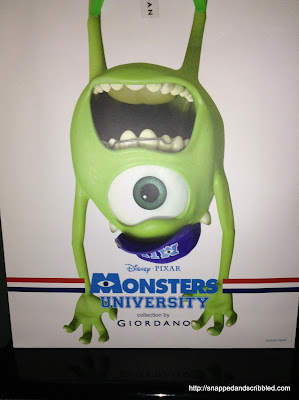 Monsters University by Giordano