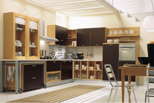 modeles cuisines equipees stephanie space. Black Bedroom Furniture Sets. Home Design Ideas