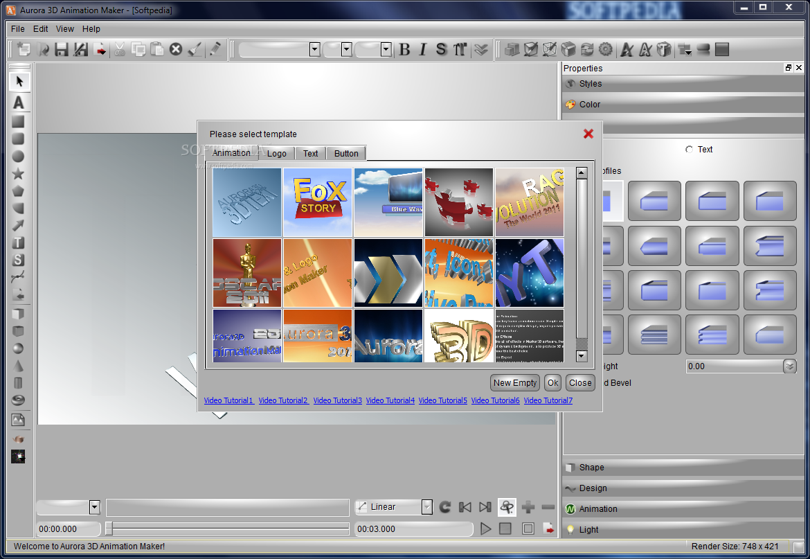 Free Download Software Aurora 3d Animation Maker