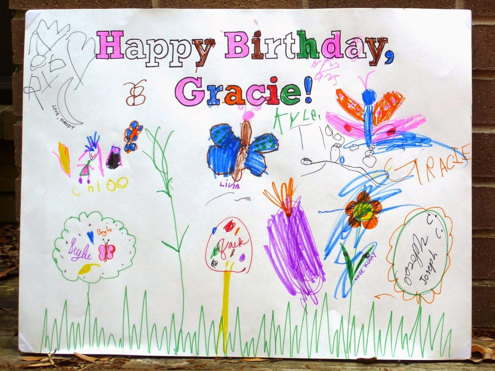Birthday Poster Card