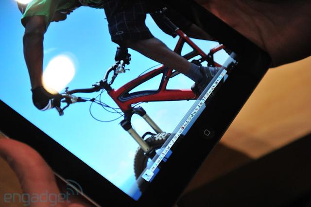 the new ipad retina image