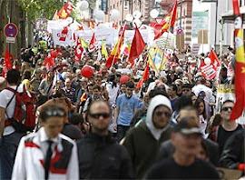 Protesto na Alemenha