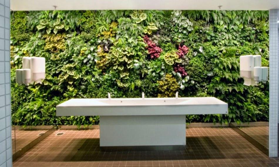 Un mur v g tal blog d co mydecolab - Salle de bain tropicale ...