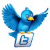 Flying Twitter Bird Widget to Blogger Post