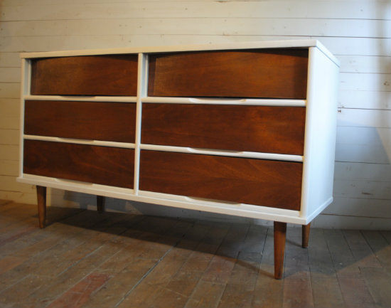 Modern Mid Century Dresser by Phylum Furniture