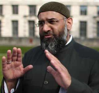 Radical London preacher Anjem Choudary