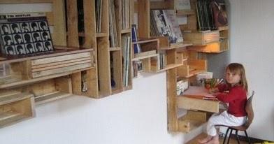 Super estanter a hecha con palets - Estanteria hecha con palets ...