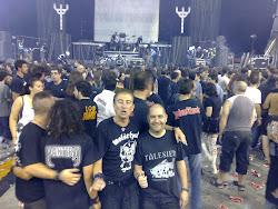 Javier Gómez Vila (alumno) en el concierto de Judas Priest, Motörhead y Saxon (29/07/11)