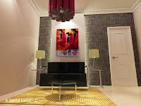 Ruang Santai Keluarga Berlian Residence