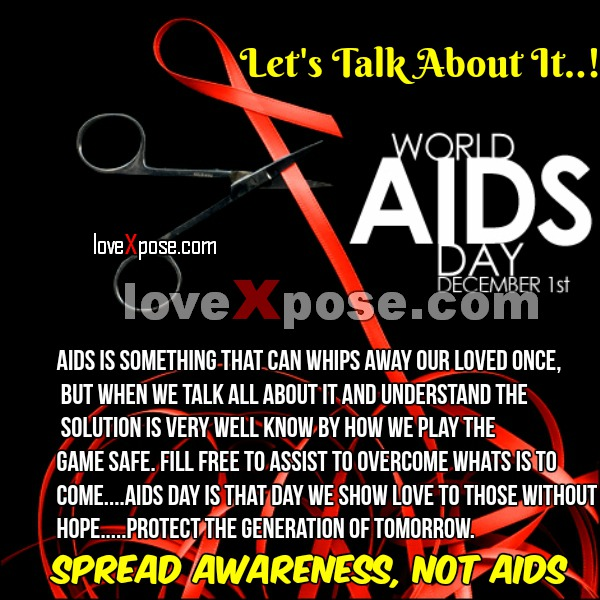 World Aids Day Quotes Slogan facebook