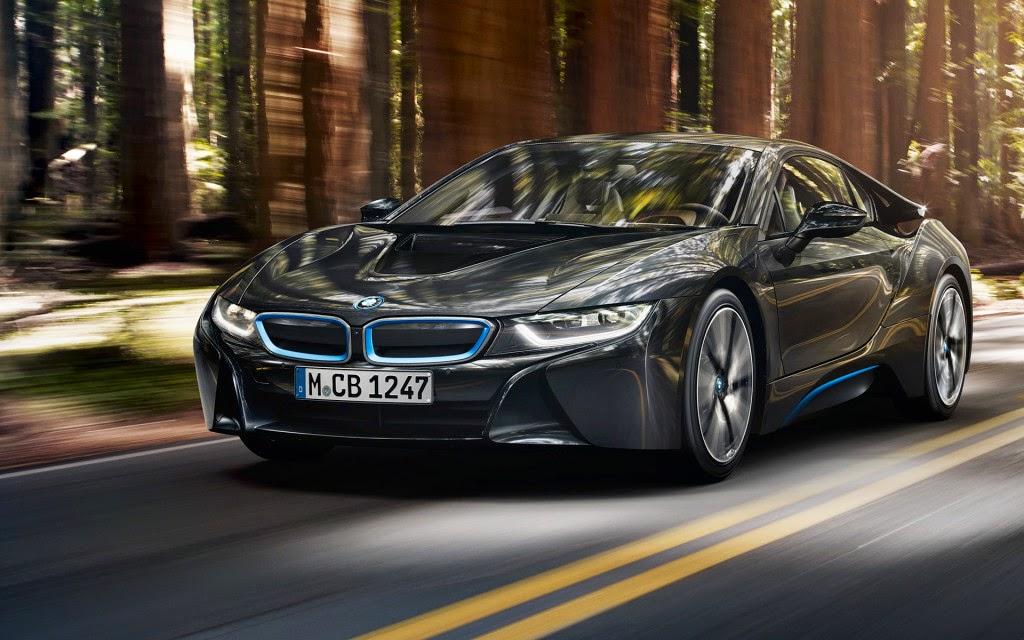 2015 දී BMW ගෙන් ලොව ප්රථම පරිසර හිතකාමී සුපිරි මෝටර් රථය වෙළදපොලට....## 2015 BMW i8 : The first eco-friendly supercar