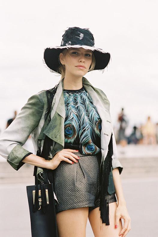 Vanessa Jackman: Paris Couture Fashion Week AW 2013.Vika