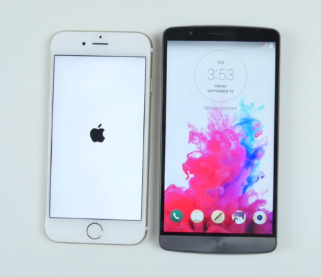 berita Perbandingan Smartphone Apple Iphone 6 VS LG G3