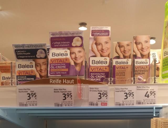 Balea - Vital+ Reichhaltige Öl-Creme Maske