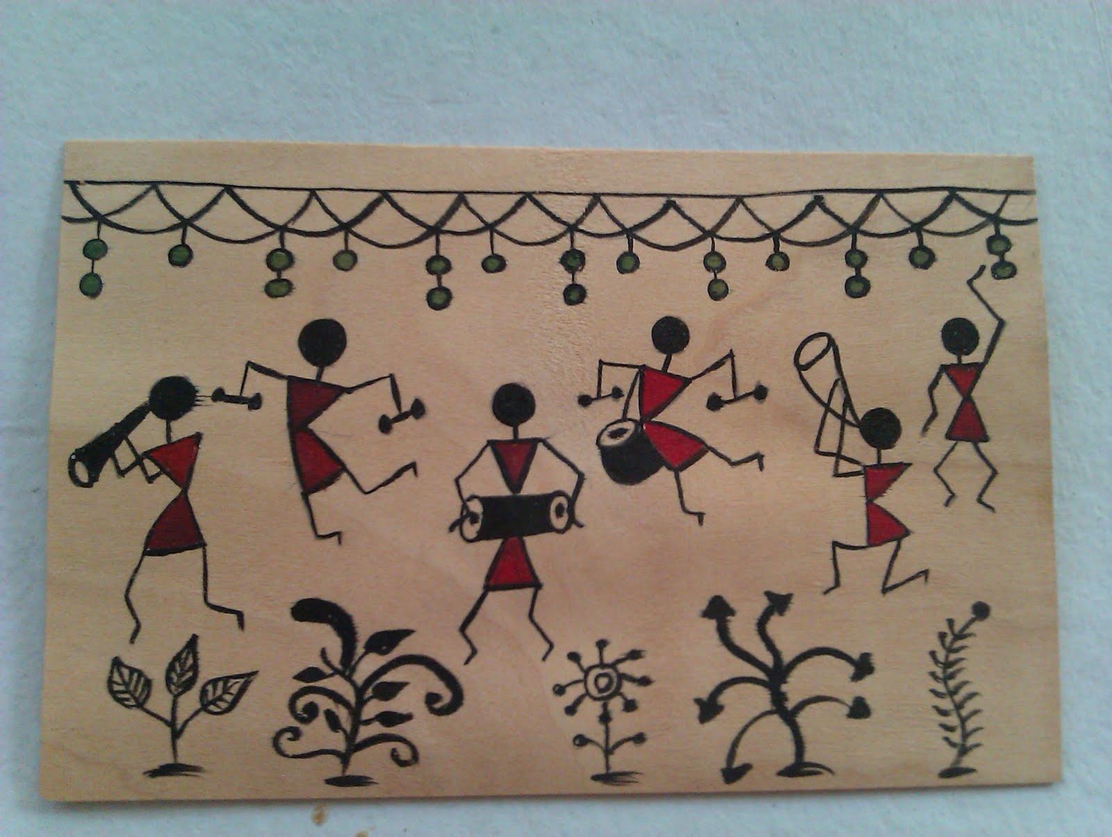 Bela Shah: Warli Painting