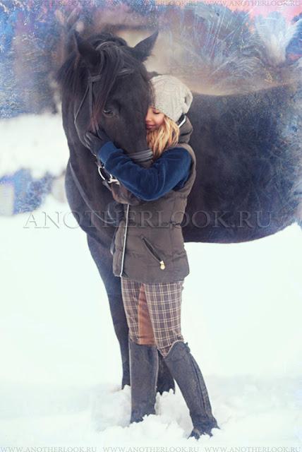 лучшие фотосессии с лошадьми