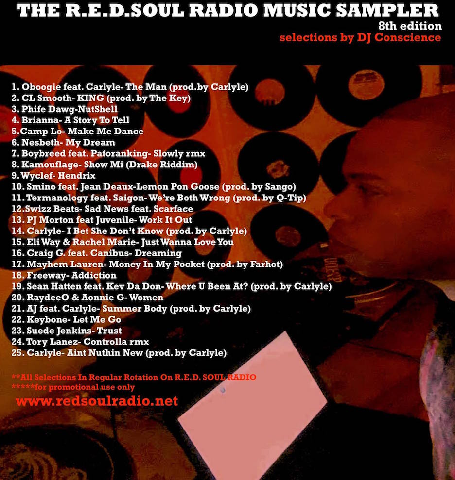 THE REDSOUL MUSIC SAMPLER 8.0