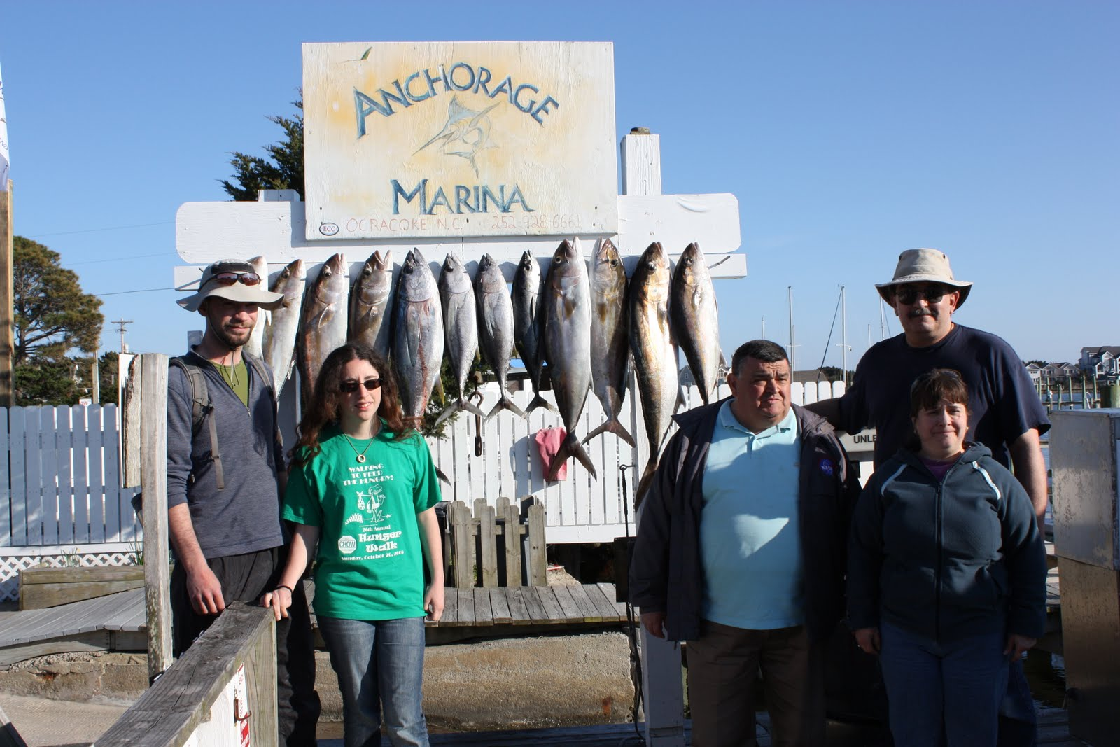 Outer banks charter fishing with the drum stick for Obx charter fishing