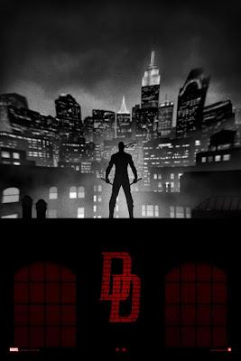 Marvel's Daredevil Variant Giclee Print by Marko Manev
