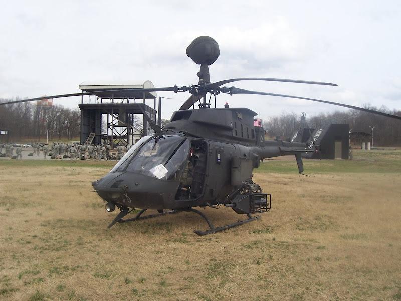 OH-58D Kiowa Warrior Reconnaissance Helicopter