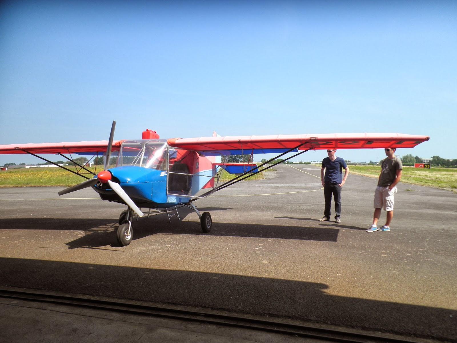 aéroclub de lannion: direction l'île de bréhat en ulm skyranger