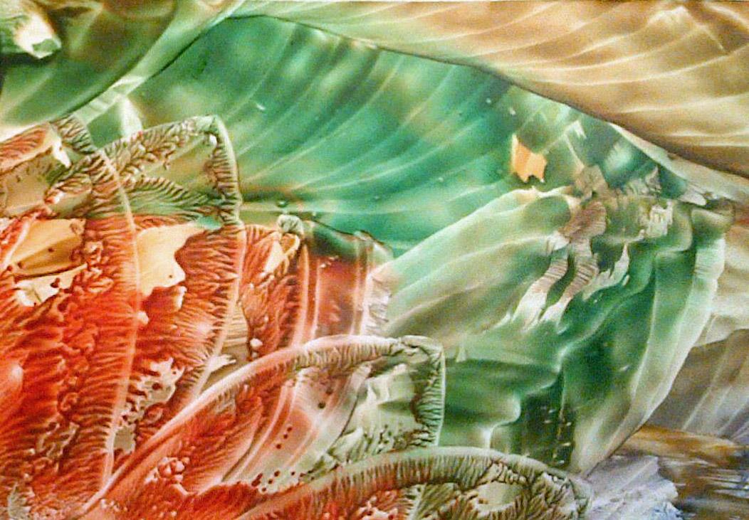 K starartz expressing himself abstract landscape wax for Wax landscape