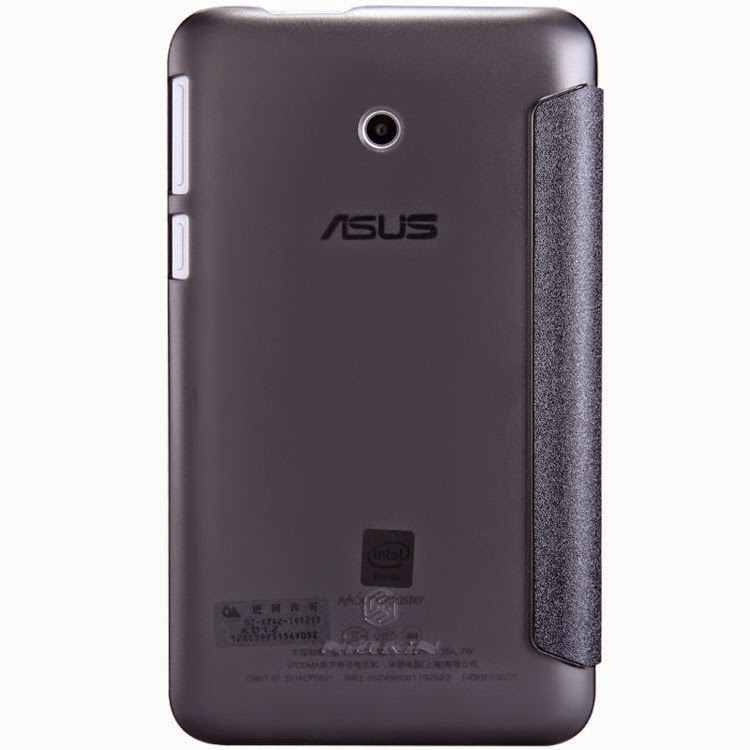 Leather-Case-ASUS-Fonepad-7-FE170CG-Nillkin-Sparkle-Series-Tri-fold-Stand-Wake-Sleep-Smart-Black