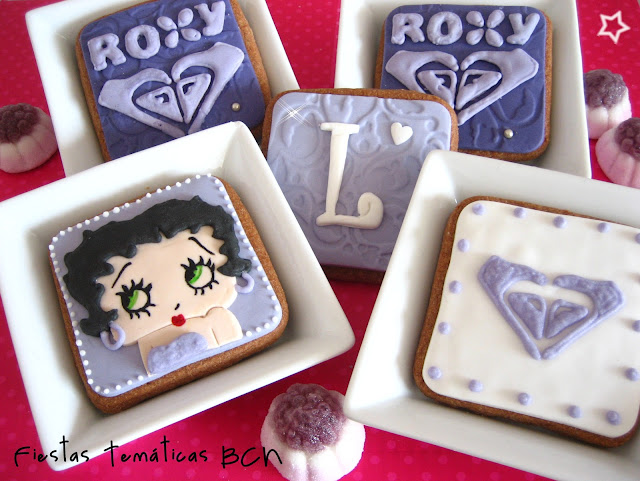 Galletas Betty boop y Roxy