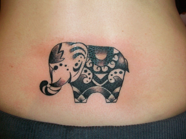 decorated elephant tattoo  poll