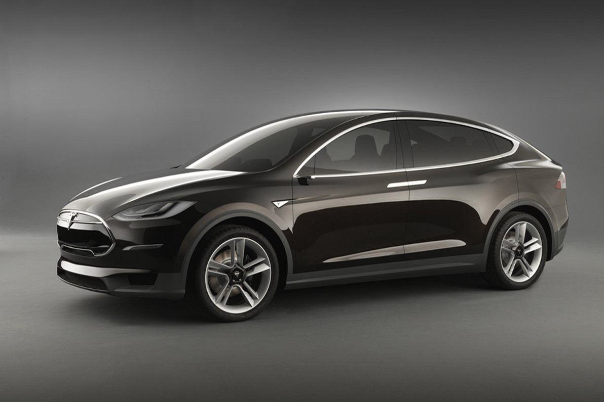 2013 Tesla Model X Crossover First Llok With Video
