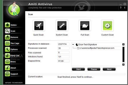 Amiti Antivirus 16