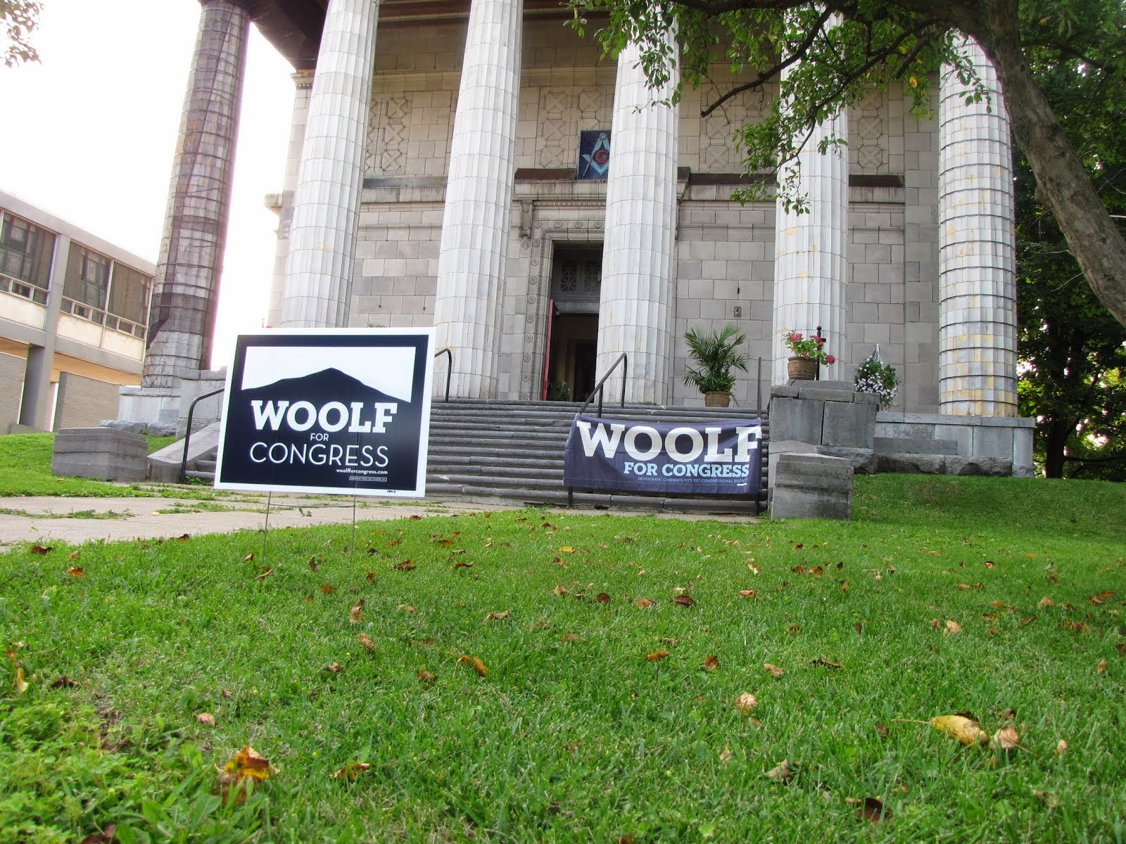 The Masonic Temple Became a Woolf's Den