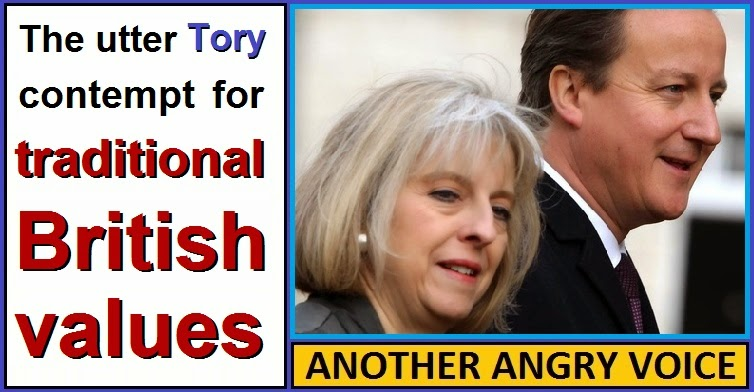 The Utter Tory Contempt For Traditional British Values
