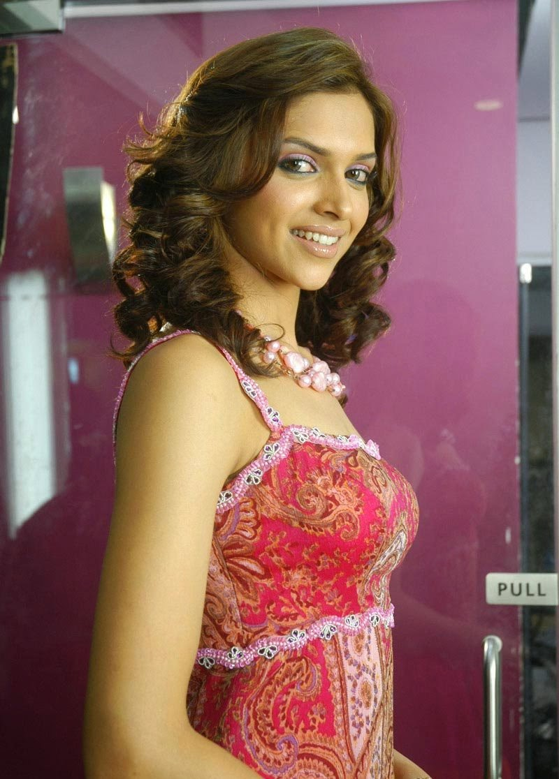 Deepika Padukone in Pink SKirt