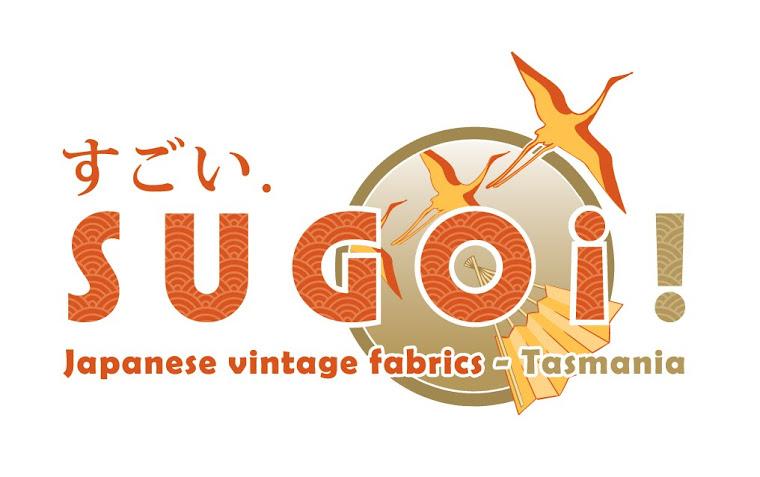 Sugoi! Japanese kimono fabrics, ready for upcycling.