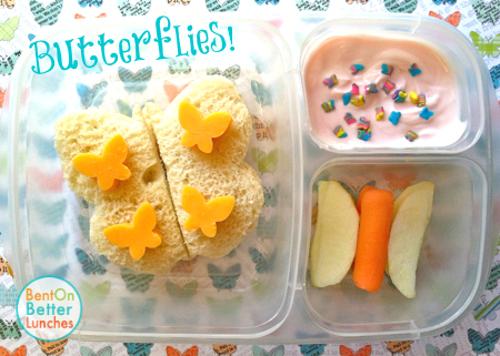 Butterfly Bento Lunch