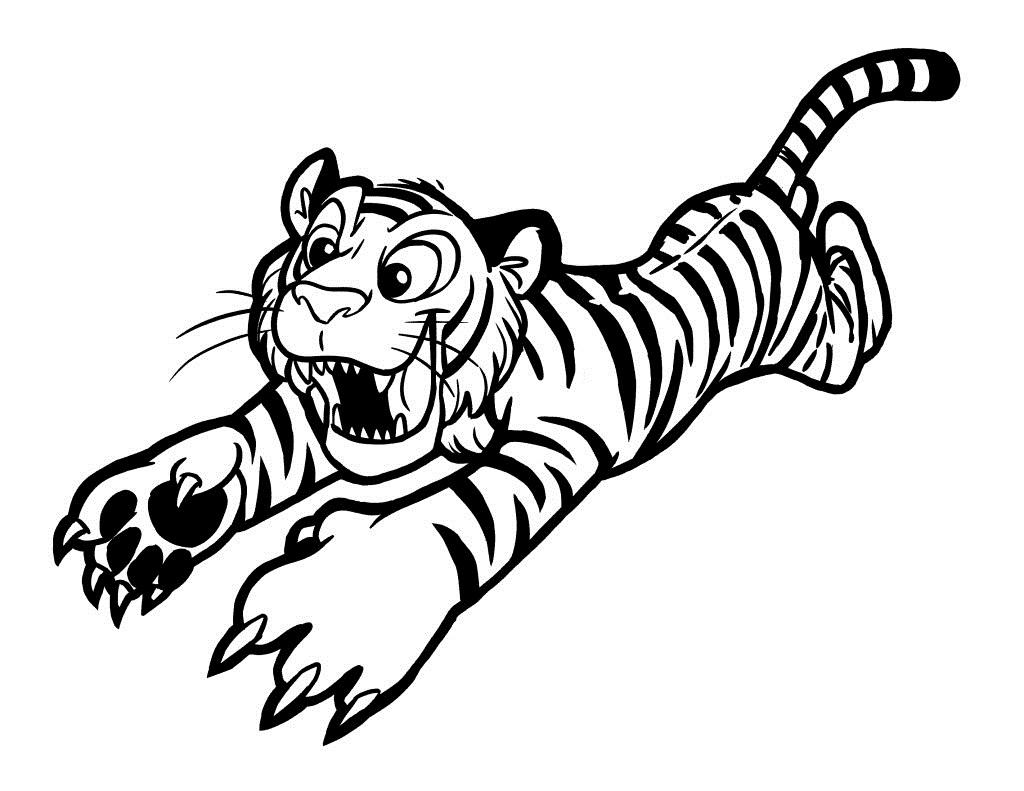 Mewarnai Gambar Harimau %
