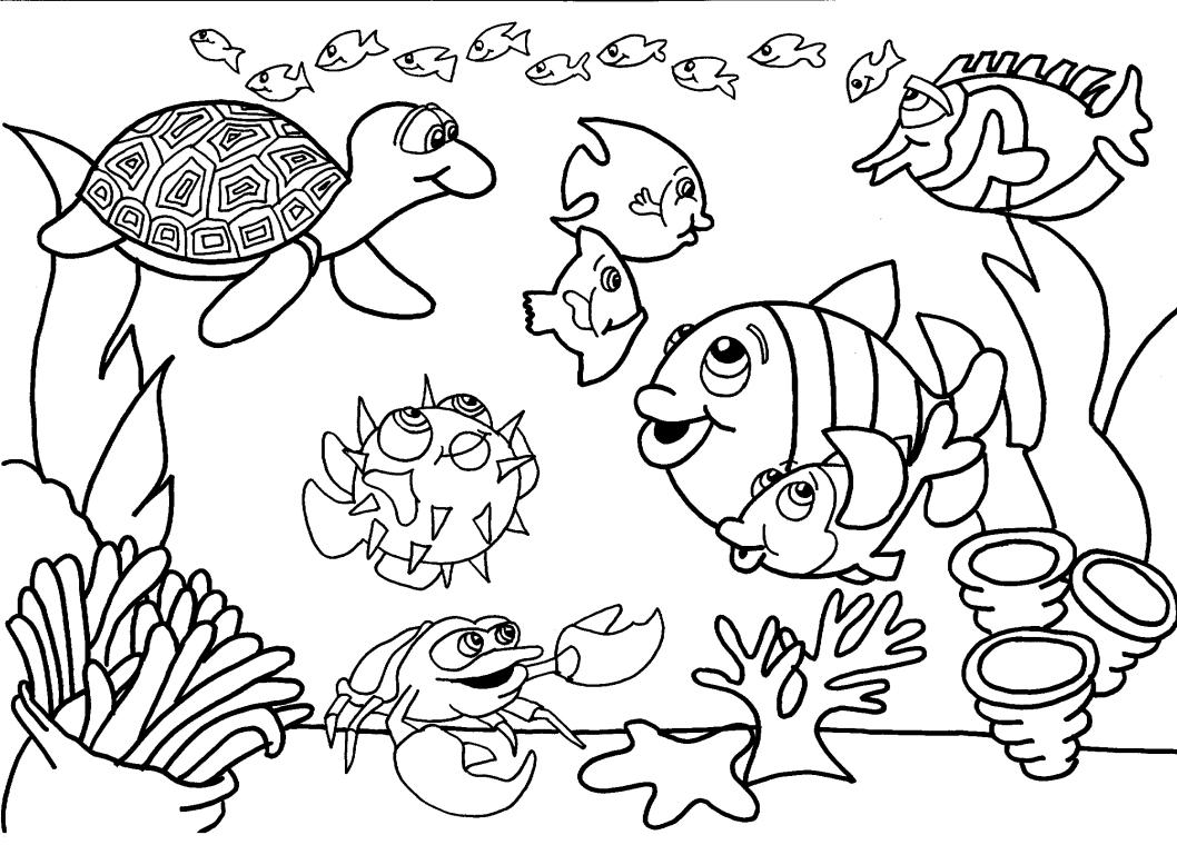 Desenhos para colorir desenhos de peixes para colorir - Disenos para pintar ...