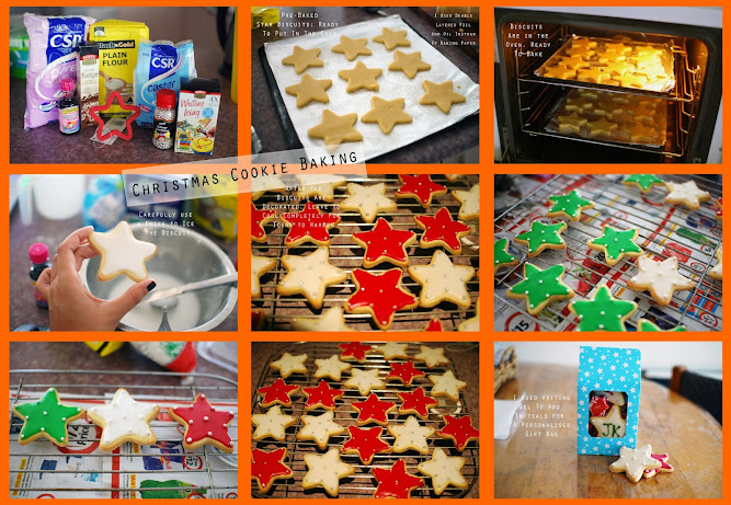 ING DIRECT Visa payWave Christmas Star Cookies Recipe
