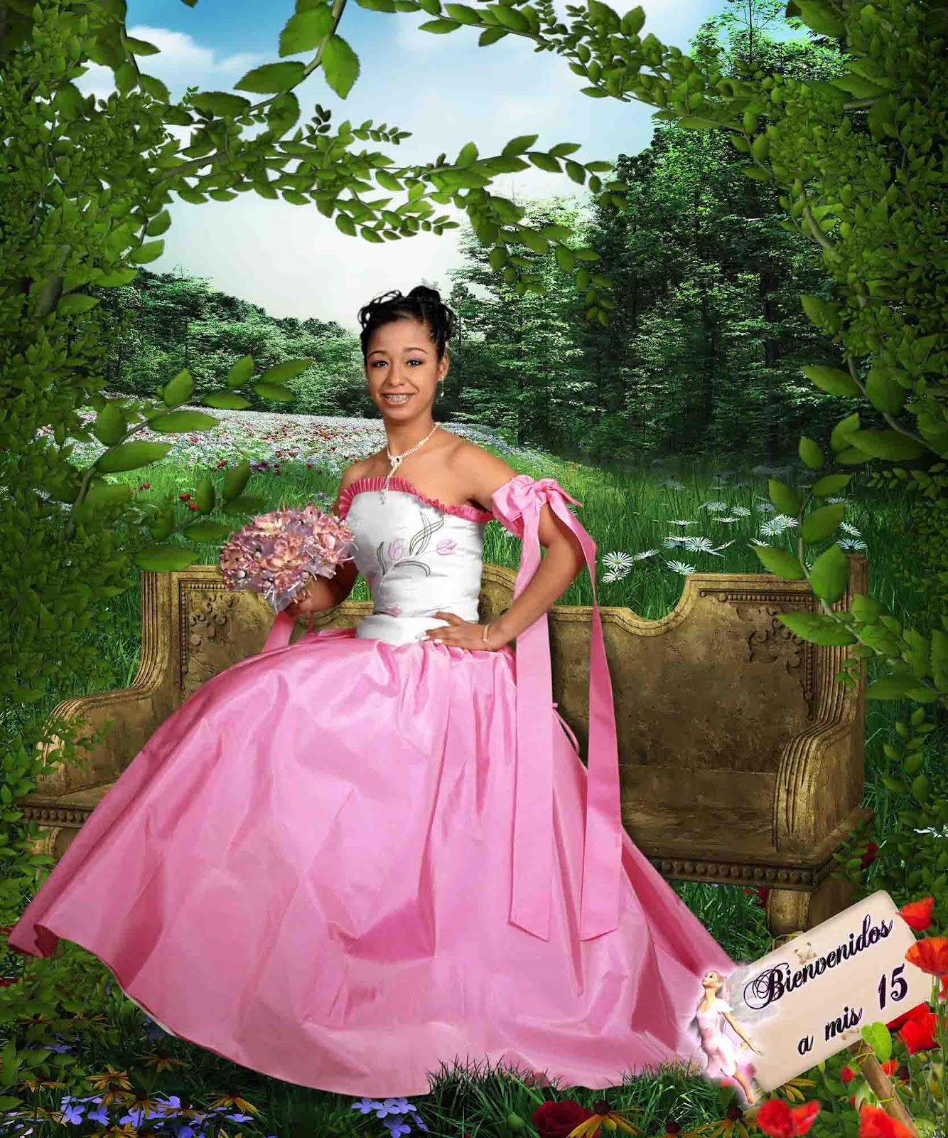 Fondo en jardin para 15 a os plantillas para photoshop 2017 for Jardin 81 treinta y tres
