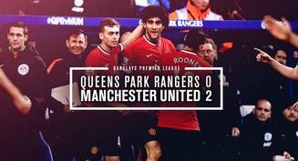 Video Gol QPR vs Manchester United 0-2