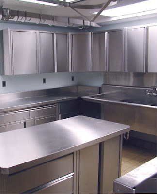 Modern Metal Kitchen Cabinets