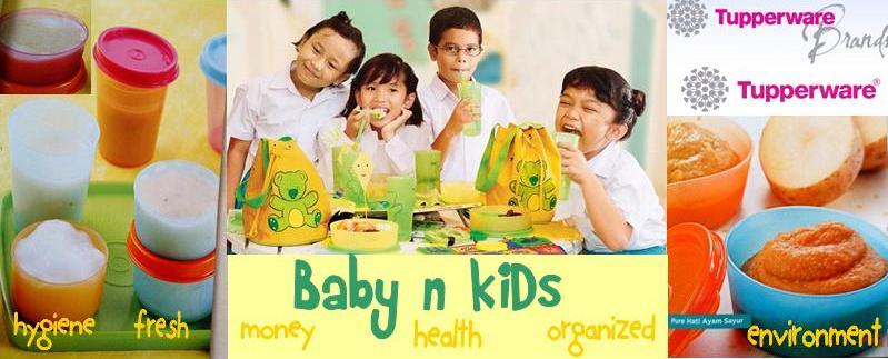 Tupperware Bayi & Anak